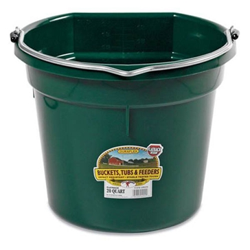Little Giant 20 Qt. Green Bucket P20FB
