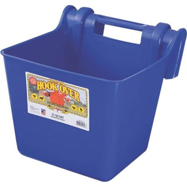 Little Giant 15 qt Fence Feeder HF15 Blue