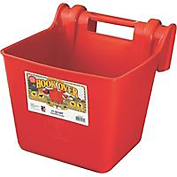 Little Giant 15 qt Fence Feeder HF15 Red