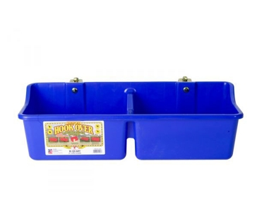Little Giant 16 Quart Hook Over Portable Feeder w/Divider