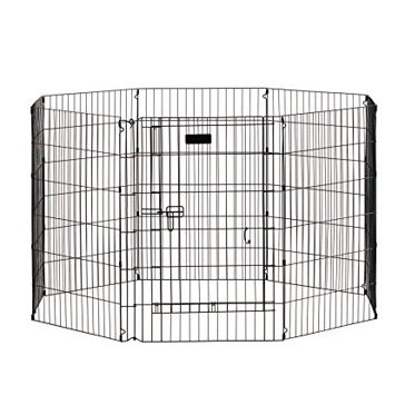 "Precision Pet 36"" Ultimate Exercise Pen with Door 10001083"