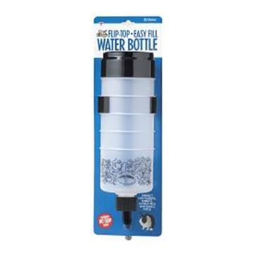 Pet Lodge 32oz Flip-Top Easy Fill Water Bottle