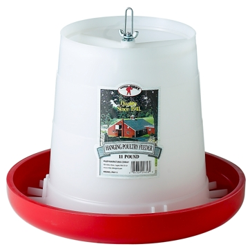 Little Giant 11 lb. Plastic Hanging Feeder
