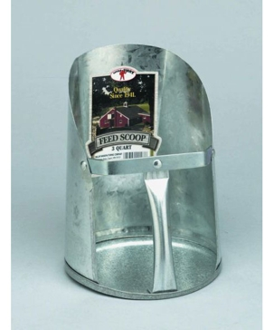 Little Giant 3 Quart Galvanized Feed Scoop 9203