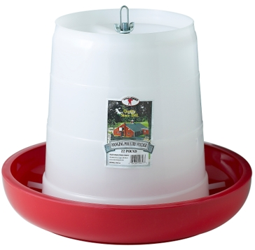 Little Giant 22 lb. Plastic Hanging Feeder