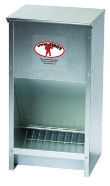 Giant Galvanized High Capacity Poultry Feeder