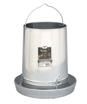 Little Giant 30-Pound Hanging Metal Poultry Feeder