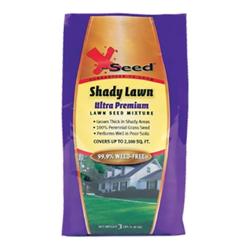 X-Seed Ultra Premium Grass Seed - Shady Lawn