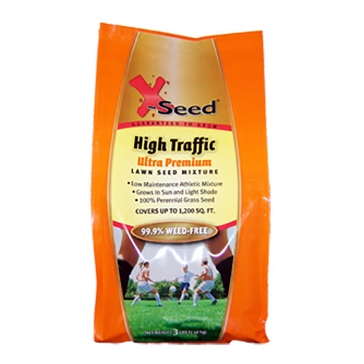 X-Seed Ultra Premium Grass Seed - High Traffic 3lb