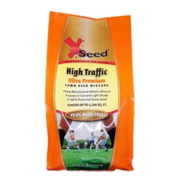 X-Seed Ultra Premium Grass Seed - High Traffic 3lb