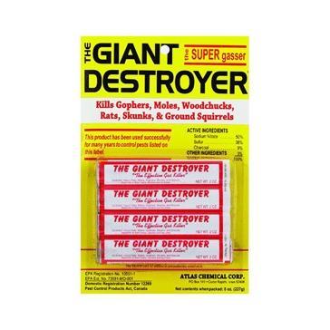 The Giant Destroyer Super Gasser Mole Killer