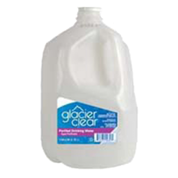 Glacier Clear 128oz Distilled Water