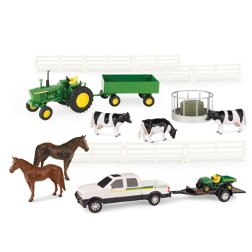 Ertl 1:32 John Deere 20pc Value Set