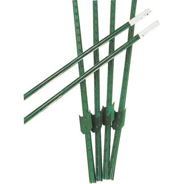Franklin Industries 6.5ft Studded T-Post with Clips