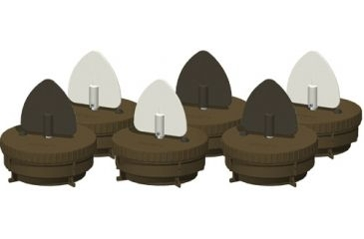 MOJO Flock a Flickers 6 Pack Motion Decoys HW2445