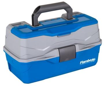 Flambeau Classic 2- Tray Tackle Box - Blue