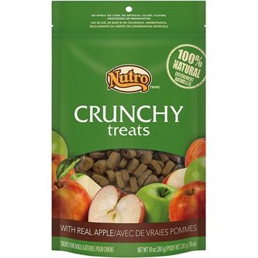 Nutro Crunchy Dog Treats with Real Apple 10oz