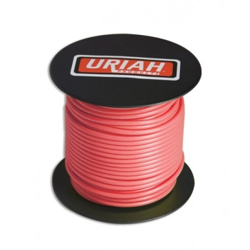 Uriah Red 16AWG Primary Stranded Wire 100' Spool UA521650