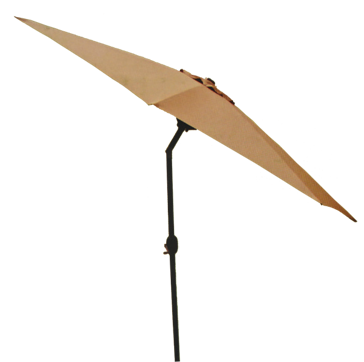 Discover Home Products 9ft Aluminum Umbrella- Tan