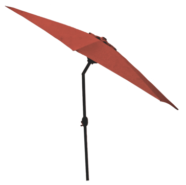 Discover Home Products 9ft Aluminum Umbrella-Red