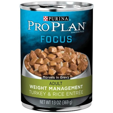 Purina Pro Plan Focus Adult Weight Management Wet Dog Food 13oz