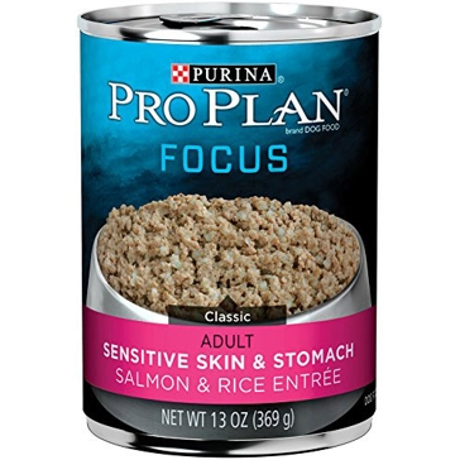 Purina Pro Plan Focus Adult Sensitive Skin & Stomach Wet Dog Food 13oz