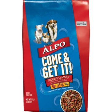 Purina Alpo Come & Get It! Adult Dry Dog Food 52lb
