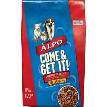 Purina Alpo Come & Get It! Adult Dry Dog Food 52lb