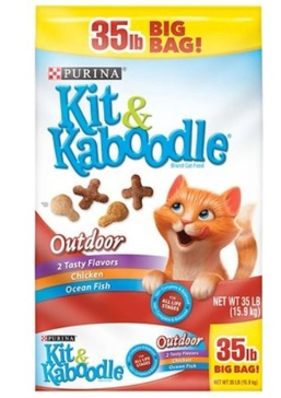 Kit N Kaboodle Outdoor Cat Food 35#