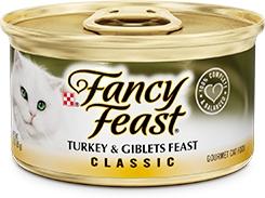 Fancy Feast Classic Turkey & Giblets Feast 3oz.