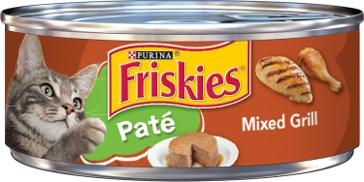 Friskies Pate Mixed Grill Cat Food- 5.5 Oz
