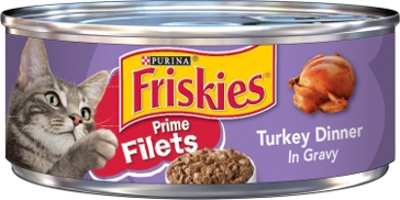 Friskies Filets - Turkey Dinner in Gravy - 5.5 Oz.