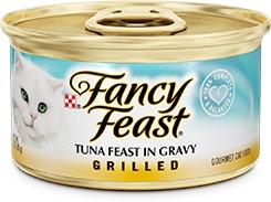 Fancy Feast Grilled Tuna Feast in Gravy 3oz.