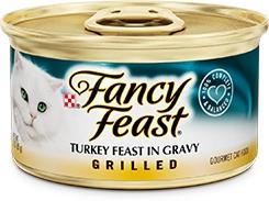 Fancy Feast Grilled Turkey Feast in Gravy 3oz.