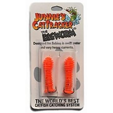 Junnie's Cattracker The Eggworm Orange 2PK