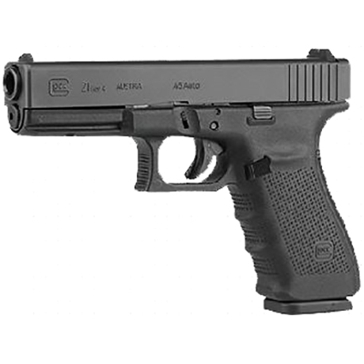 """GLOCK 21 Gen 4 .45 Auto 4.60"""" Standard Handgun"""