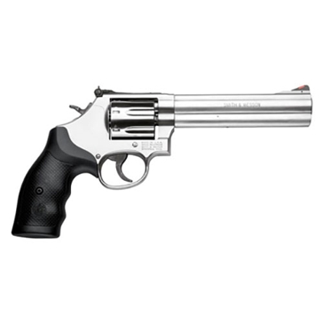 """Smith & Wesson 686 .38SW Special +P 6""""  Stainless Steel L-Frame Handgun"""