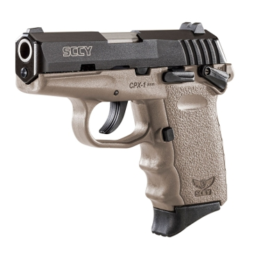 "SCCY CPX-1 9mm 3.1"" Black/Dark Earth Handgun"