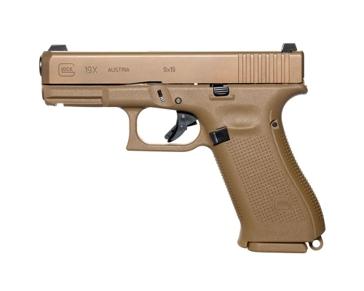 Glock 19X GEN 5 Flat Dark Earth 9mm Semi-Auto Pistol