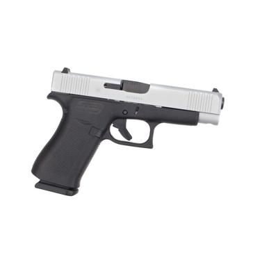 Glock 48  Compact Silver Slide 9mm Pistol