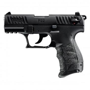 Walther P22Q .22LR Semi-Auto Pistol Black