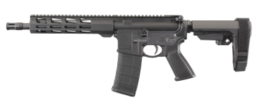"Ruger AR-556 10.5"" 5.56mm Pistol with Arm Brace 8570"