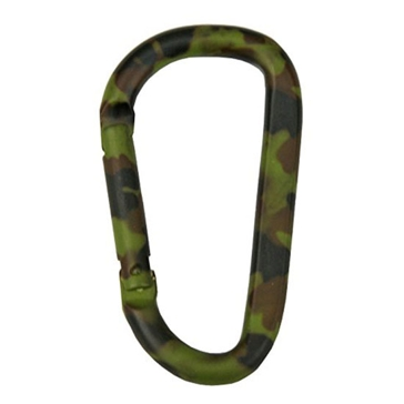 Koch Industries Camo Aluminum Spring Snap 2/card