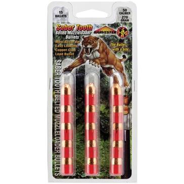Harvester Saber Tooth Belted Muzzleloader Bullet - .50 Caliber 270 Grain
