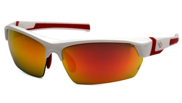 Venture Gear Tensaw Tactical Glasses Sky Red/White & Red