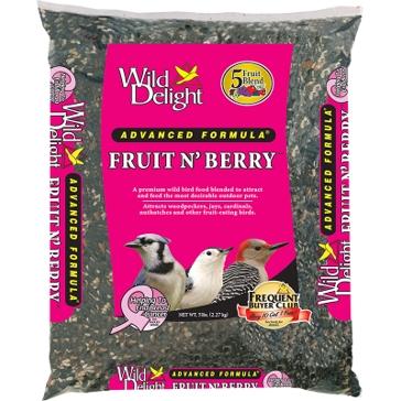 Wild Delight Fruit N' Berry Bird Seed 5lb