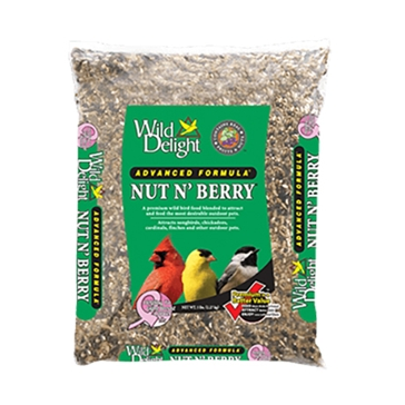 Wild Delight Nut N' Berry Bird Seed 5lb