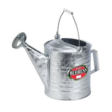 Behrens Hot Dipped Steel Watering Can 10 Qt