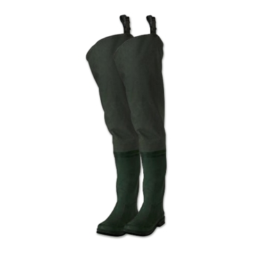 Frogg Toggs Cascades 2-Ply Rubber Bootfoot Hip Waders