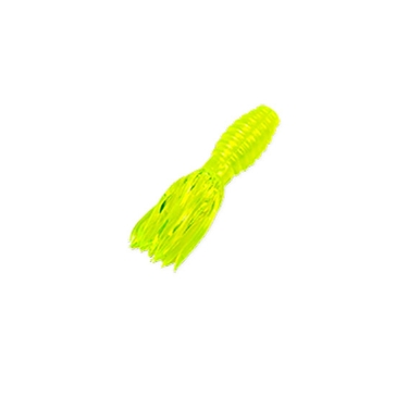 """Mr. Crappie Crappie Thunder 1-3/4"""" Hot Chartreuse Lure 15 Pack"""